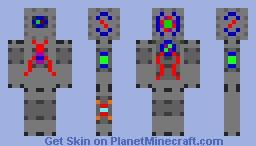 Minotron MkII Minecraft Skin