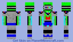 Roboto Minecraft Skin