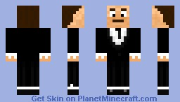 Ron Jeremy Minecraft Skin