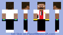 Famous Person Minecraft Skin