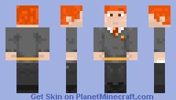 ron weasly Minecraft Skin