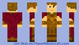 Rory the Roman Minecraft Skin