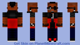 Roscoe Dash - BET AWARDS (It's Not Mr. T) Minecraft Skin