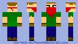 RotMG Rogue Minecraft Skin