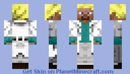 Carl Johnson CJ Minecraft Skin - Skins para minecraft pe cientista
