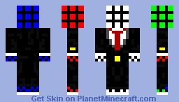 Rubix cube Minecraft Skin