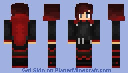Ruby Rose (RWBY RoosterTeeth Series) Minecraft Skin