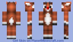 Rudolph (Christmas Special Series) Minecraft Skin