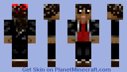 Rue The Hunger Games Minecraft Skin