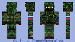 The Russian Sniper. Minecraft Skin