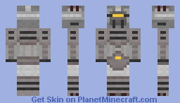 The Ironclad Minecraft Skin