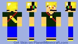 Sky Army Pyro Razmis Minecraft Skin