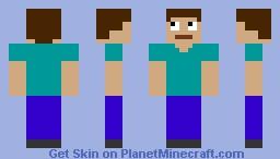 Sharp Design Steve Minecraft