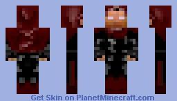 Salvar: The Dark Oppressor. Minecraft Skin
