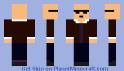 Me on Saints Row 3 Minecraft Skin