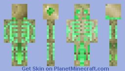 skeleton radioactive ( Apocalypse Skin Contest ) ☠ Minecraft Skin