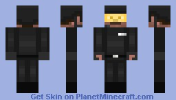SWAT Recruit (Updated, the 2D image won't update) Minecraft Skin