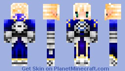 Saber from Fate/Stay Night Minecraft