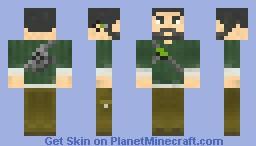 Sam Fisher [Splinter Cell Conviction] Minecraft Skin