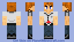 Samson the Pokemon Trainer Minecraft Skin