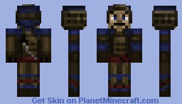 Samurai Warrior Minecraft Skin