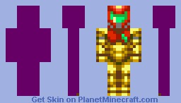 Samus Aran (Power Suit) Minecraft Skin