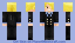 Sanji One PIece Minecraft Skin - Skins para minecraft de one piece