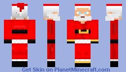 Santa Claus Minecraft Skin