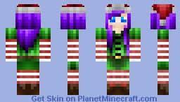 Santa's Elf Minecraft Skin