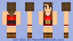 Christmas girl♥ Minecraft Skin