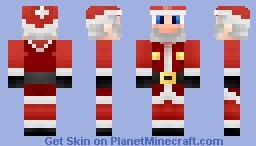 Santa Mario (Twelve Skins Of Advent #6!) Minecraft Skin