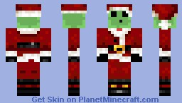 Slime Dressed As Santa Clause