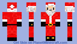 Santa Claus (Inspired by Honeydew) Minecraft Skin