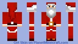Santa Skin Minecraft