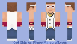 Epic Sax Guy Minecraft Skin