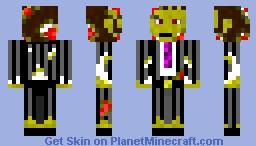Scariest skin ever!!! Minecraft Skin