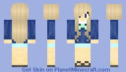 Schoolgirl Minecraft Skin