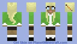 Blonde School Girl Minecraft Skin