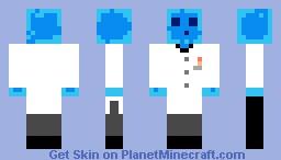 Scientist Slime Minecraft Skin