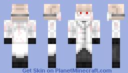 Mad Surgeon Minecraft Skin