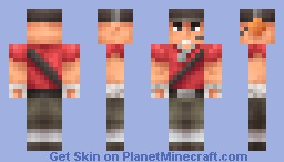 Scout from Team Fortress 2 Minecraft