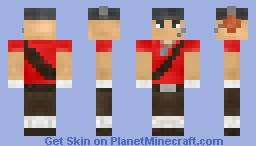 Scout- Team Fortress 2 Minecraft Skin