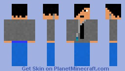 Screamo Music Fan Minecraft Skin