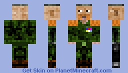 Seargeant Droz Minecraft Skin