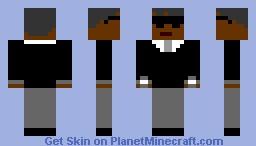 MIB agent Minecraft Skin