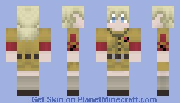 Seras Victoria (Hellsing) Minecraft Skin