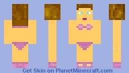 Bikini Girl Shading Test Minecraft Skin