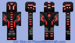 Shadowbot V1 Minecraft Skin