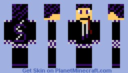 Shadow! Minecraft Skin