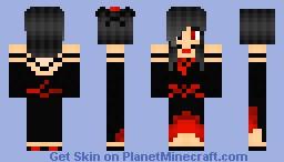 Kage - The Shadow Goddess Minecraft Skin